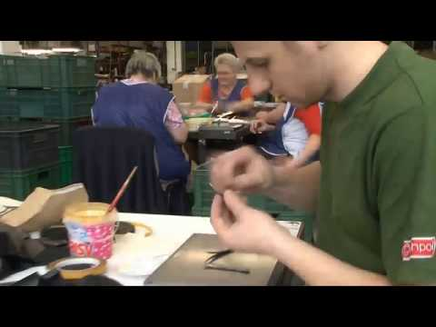 Процесс производства польской обуви Conhpol