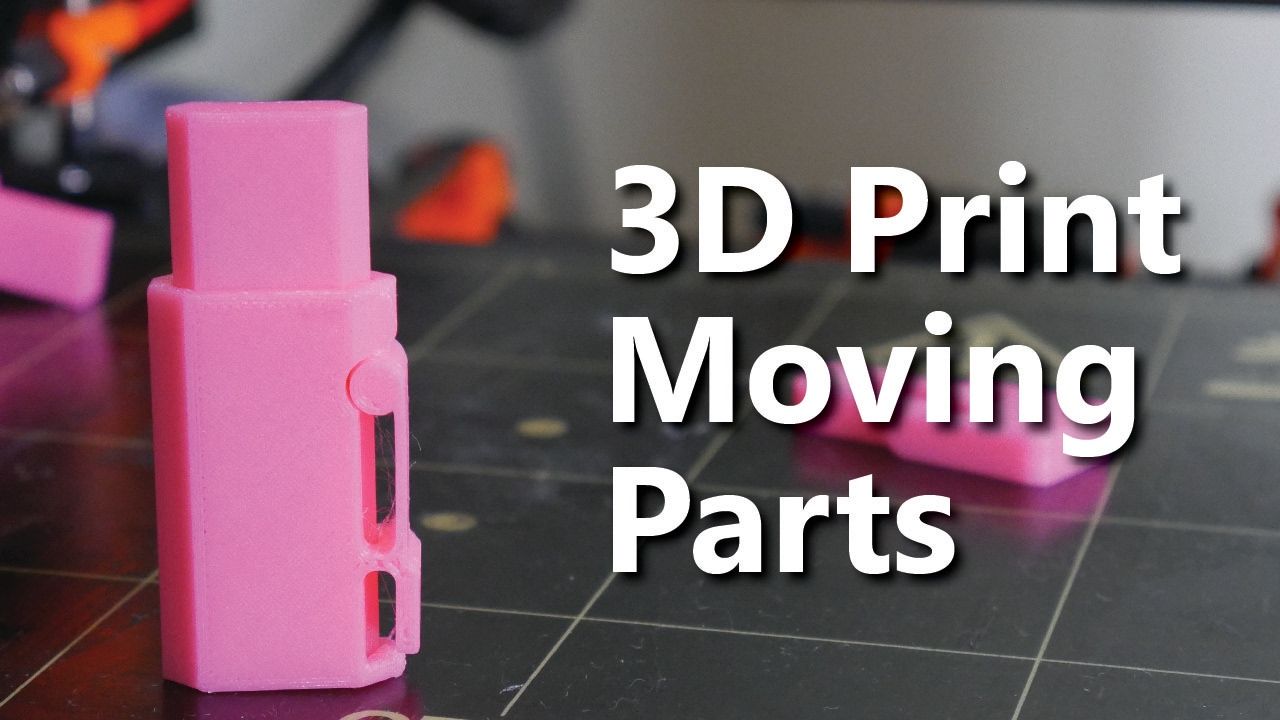 How to design 3D Printable Hinges
