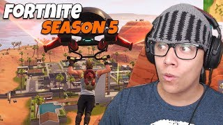 AMAZING NEW MAP and SKINS-Fortnite (Season 5)