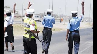 NTSA officer hit by a drunk driver along Mombasa road
