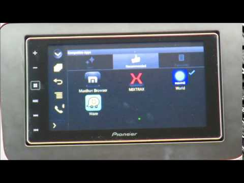pioneer sph da120 mhl hdmi android features demo youtube. Black Bedroom Furniture Sets. Home Design Ideas