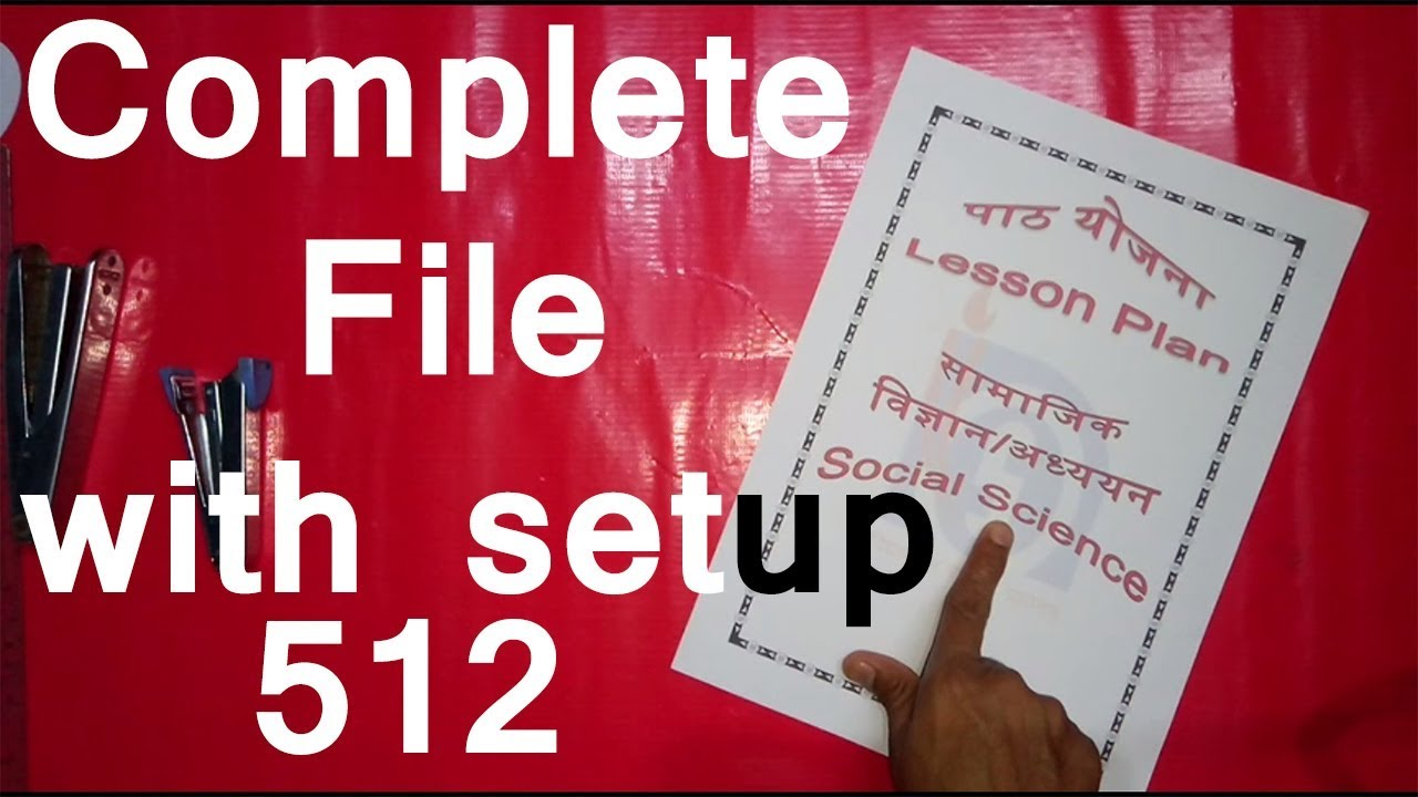 lesson plan complete file nios deled course 512 subject social