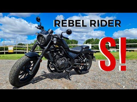 Honda Rebel 500 Review 2020 4K