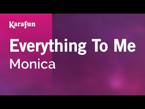 Karaoke Everything To Me - Monica *