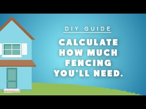 Vinyl Fence Calculator - How to create a vinyl fence layout