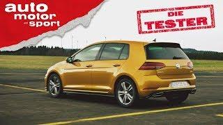 VW Golf 1.5 TSI: Hat das Downsizing jetzt ein Ende? Die Tester | auto motor und sport