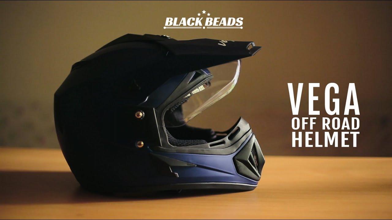 73241e0d Vega Off Road Helmet Quick Review - YouTube