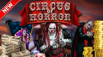 Circus of Horror new slot game GameArt for online casino and gambling players