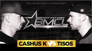 BMCL RAP BATTLE: CASHUS K VS TISOS (BATTLEMANIA CHAMPIONSLEAGUE)