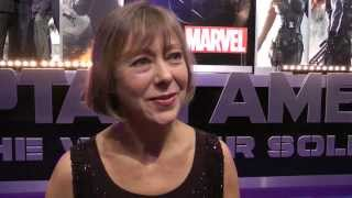 Jenny Agutter Interview - Captain America The Winter Soldier Premiere