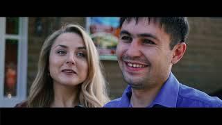Подставное интервью на свадьбе, подарок для молодых