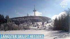 """Breungeshainer Hang"" Hoherodskopf/Vogelsberg: Hessens längster Schlepplift"