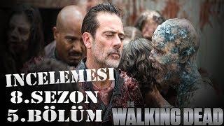 The Walking Dead 8.Sezon 5.Bölüm Analizi İncelemesi Rick Darly Kavgasi