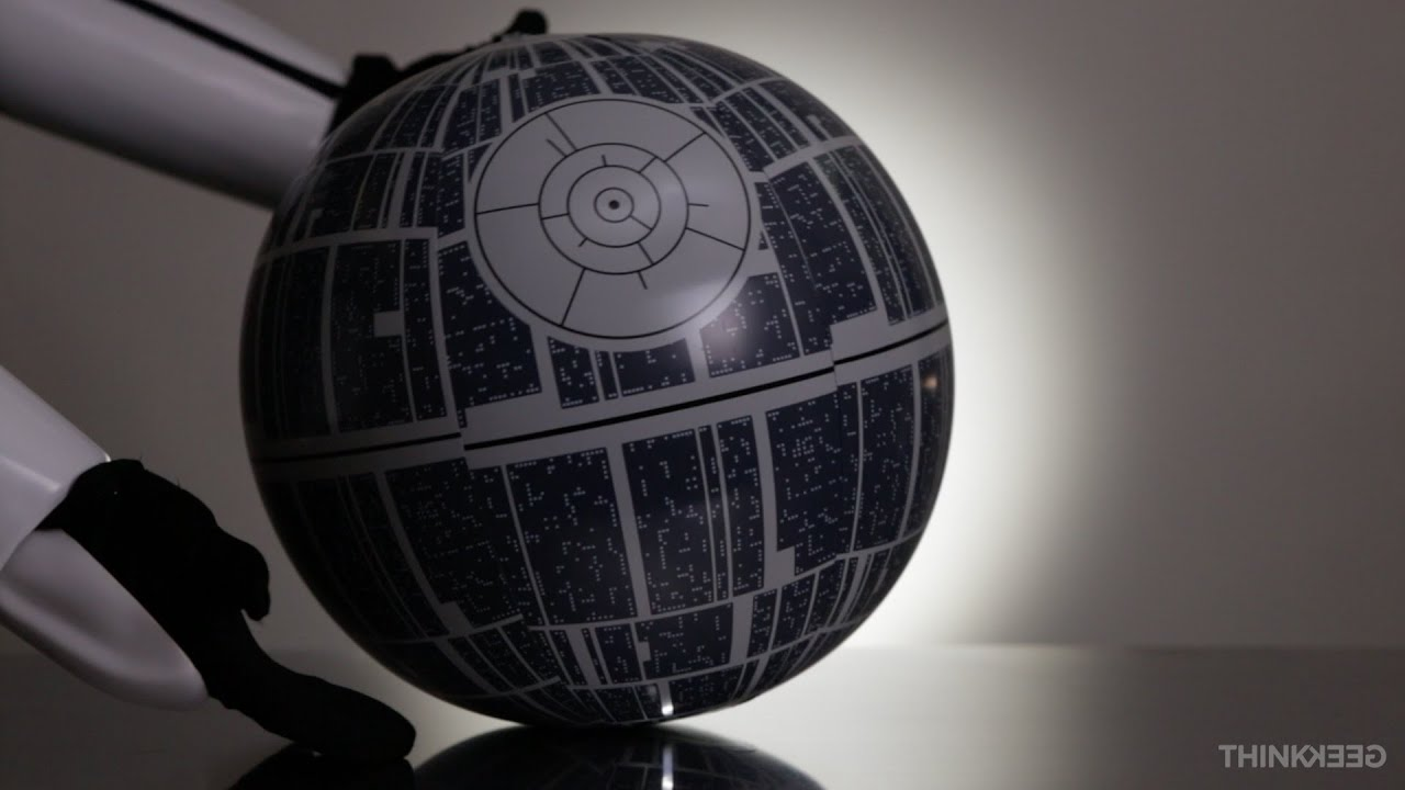 Star Wars Death Star Light Up Inflatable Ball From
