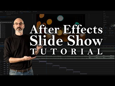 After Effects Tutorial | Photo Slide Show & More