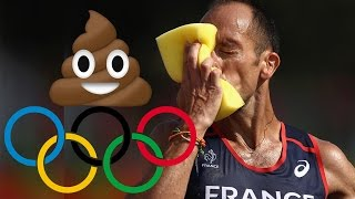 Olympic Runner Poops Himself During Race
