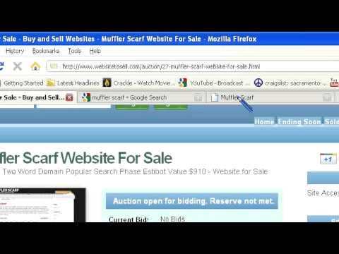 Website Tour – Scarf Domain Names For Sale – M Scarf