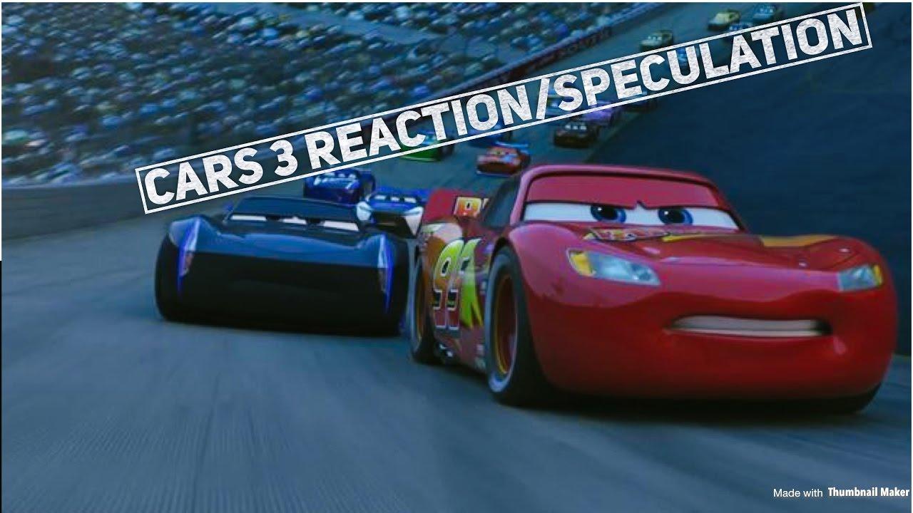 Cars 3 Official Us Trailer Reaction Breakdown Youtube