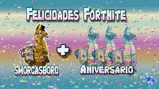 We open 3 anniversary flames + call Smorgasbord - Fortnite Save the World // @sharkfcbyt