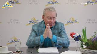 A. Lembergs par Ventspils aktualitātēm - 20.02.2019.