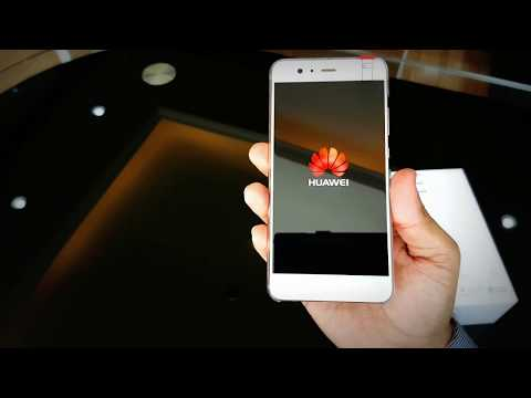 Huawei P10 Plus Unbox and Startup View