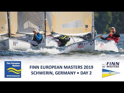 Highlights from Day 2 at the Finn European Masters at Schwerin in Germany