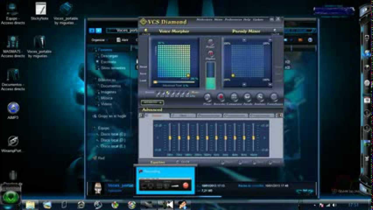 distorsionador de voz para dj virtual