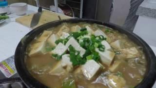 Туэнджанччиге - густой суп с соевой пастой (된장찌개)