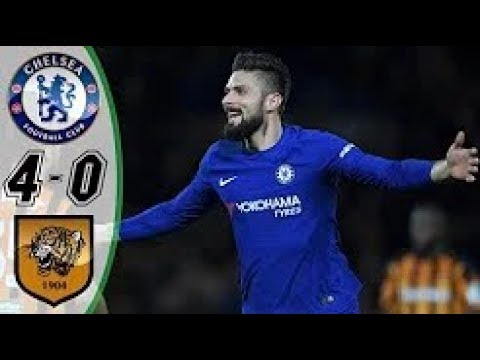 Highlights | Chelsea vs Hull City | 4 - 0  | FA Cup | 16/02/18