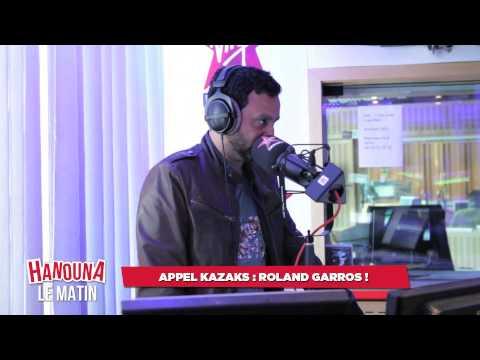 Appel KAZAKS : Roland Garros !