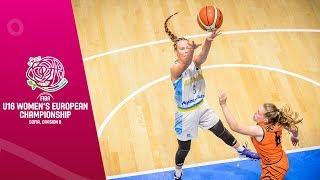 Gambar cover Ukraine v Netherlands - Full Game - FIBA U16 Women's European Championship Division B 2019