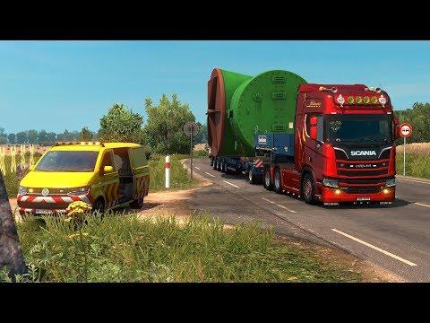 ETS2 Special Transport DLC! ПЕРВЫЙ ВЗГЛЯД