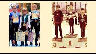 Победители Плющенко отец и сын