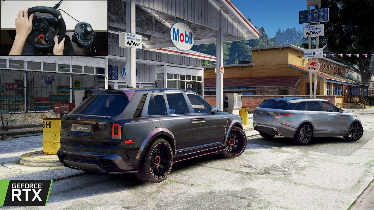 GTA 5 - Stealing back my Rolls-Royce Cullinan Billionaire Mansory - Exclusive SUV from MANSORY