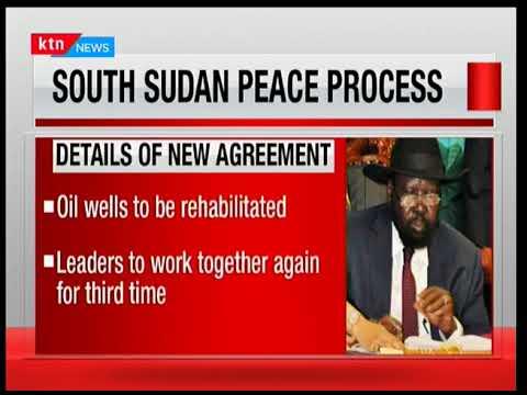 South Sudan President Kiir, Rebel Leader Machar sign peace deal | The Big Story