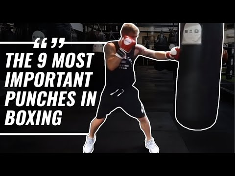 The 9 Most Important Punches in Boxing