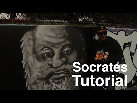 ArtPrimo.com Presents:  Green Ranger Socrates Spray Paint Tutorial