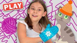 КукуPlay - КУКУТИКИ - Вяжем - Песенка - мультик для детей про бабушку и вязание - Поем с Вероникой