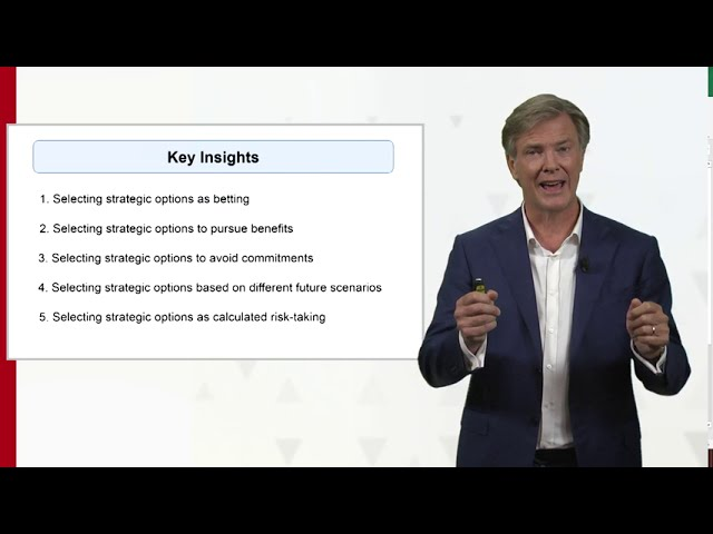 Strategic Bets Framework