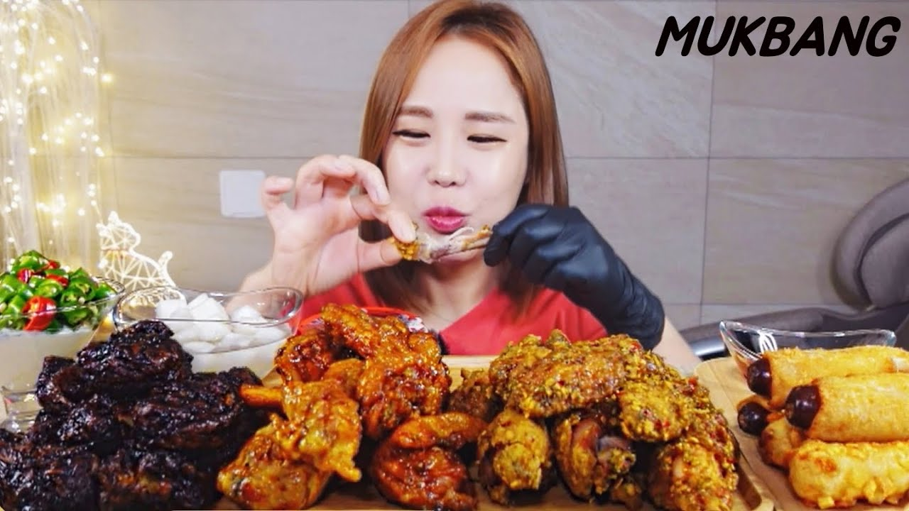 SUB) 땡초랑 치킨은 항상 옳지♥  MUKBANG ASMR eating show