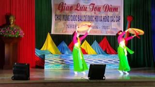 Tiết Mục Múa: Duyên Dáng Việt Nam. Biểu Diễn: HPN…