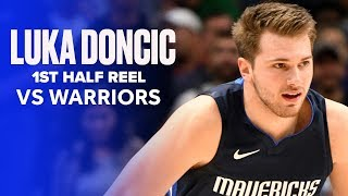 Luka Doncic (33 PTS) Almost Outscored Golden State Warriors In First Half (38 PTS)