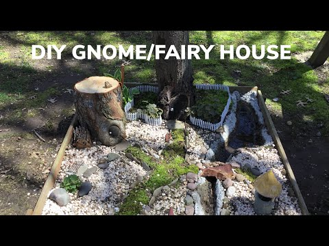 DIY GNOME/FAIRY HOUSE