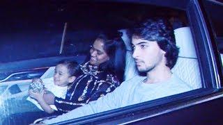 Salman Khan' SISTER Arpita & Aayush Sharma At Father Salim Khan Birthday Bash At Galaxy