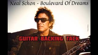 Neal Schon - Boulevard Of Dreams Guitar Backing track