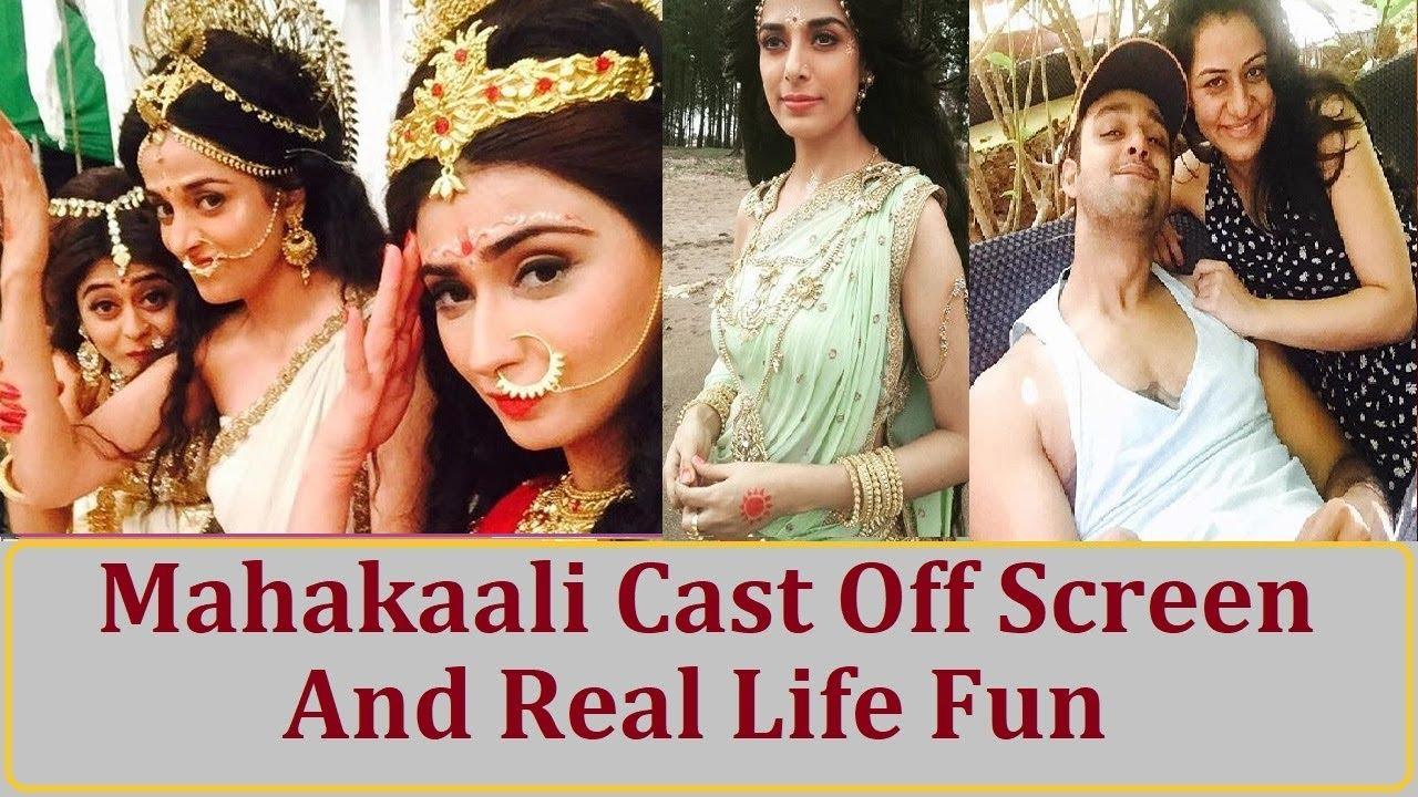 Mahakaali Cast Off Screen and Family Friends Masti !