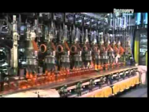 Produzione Artigianale Del Vetro.Produzione Bottiglie Youtube