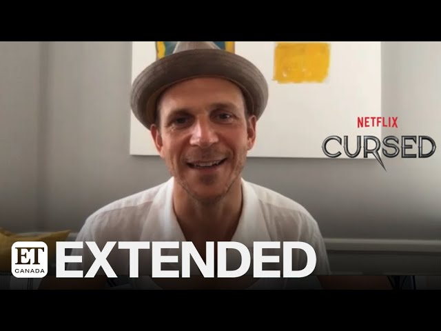 Gustaf Skarsgard Had Real Chemistry With 'Cursed' Co-Star Katherine Langford | EXTENDED