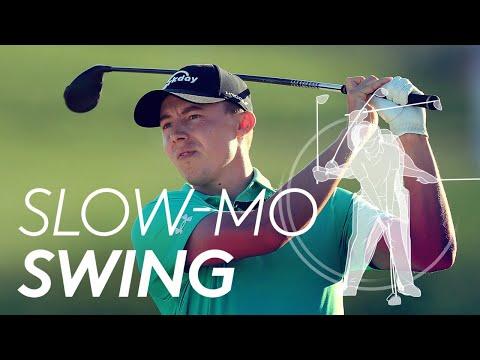 Matt Fitzpatrick's golf swing in Slow Motion