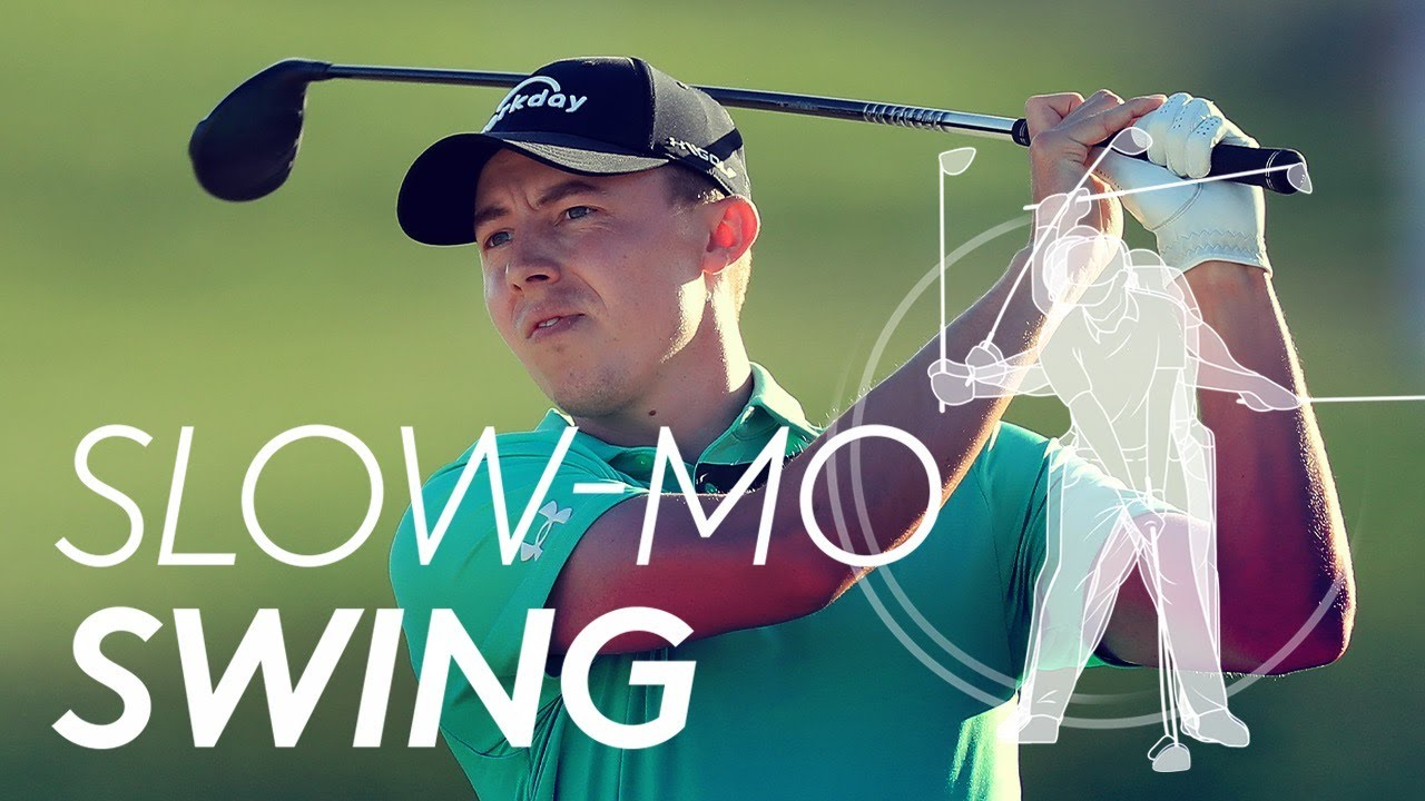 Matt Fitzpatrick's golf swing in Slow Motion